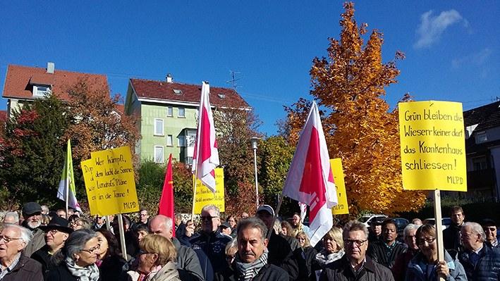 """Albstadt: """"Kein Aus für unser Krankenhaus!"""""""