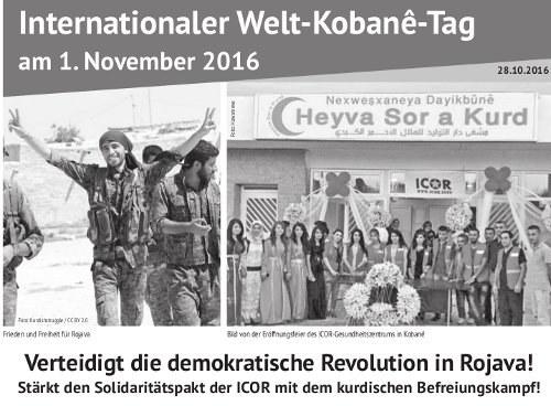 MLPD: Aktuelles Flugblatt zum Welt-Kobanê-Tag