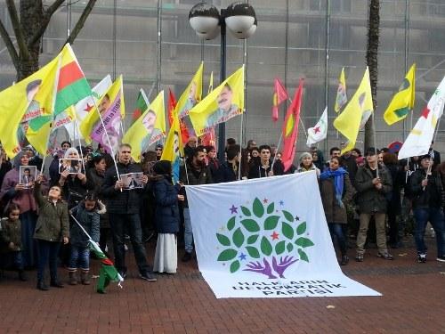 Weltweite Massenproteste für die Freilassung der HDP-Vorsitzenden