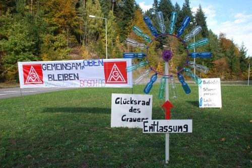 Bosch will Arbeitsplätze in Schwäbisch Gmünd vernichten – Aktionstag am 19. November
