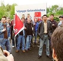 Wählerinitiative Internationalistische Liste/MLPD zeigt Solidarität
