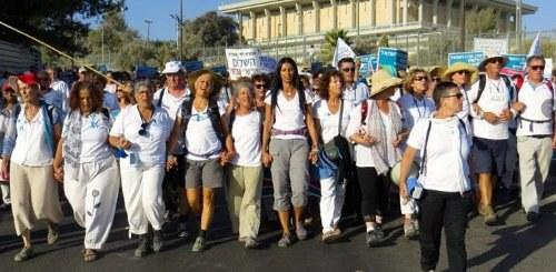 Israel: Friedensmarsch von Frauen setzt internationales Zeichen