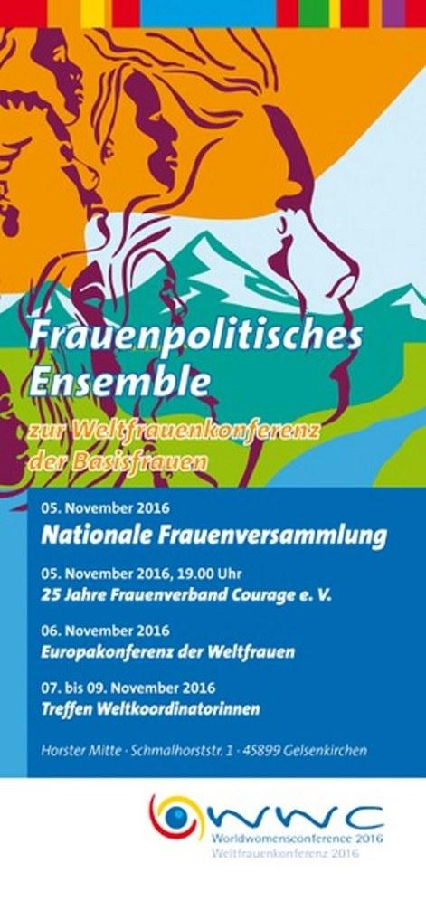 """Nur noch zwei Tage bis zum """"Frauenpolitischen Ensemble"""""""