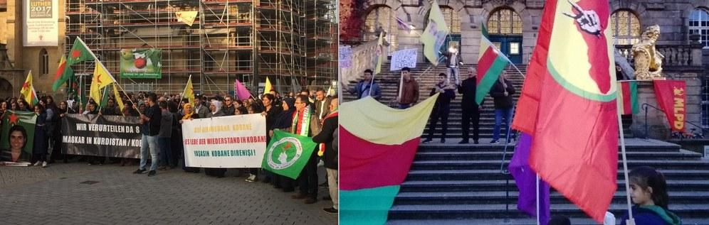 Welt-Kobanê-Tag: Die Solidarität mit dem kurdischen Kampf für Freiheit und Demokratie
