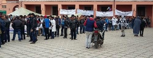 Ausgebildete Lehrerinnen und Lehrer in Marokko brauchen unbedingt internationale Solidarität