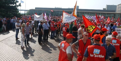 Europäischer Stahlaktionstag am 9. November