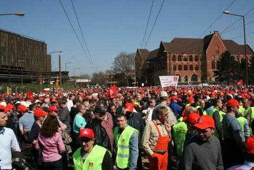 Über 10.000 bei Europäischem Stahlaktionstag