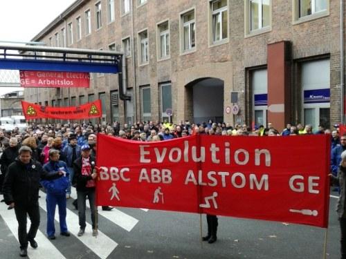 Zuspitzung bei General Electric in Mannheim
