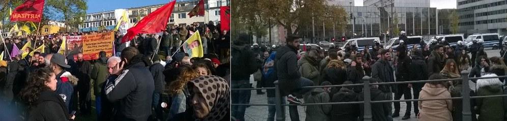 Köln: Polizei führte bei Anti-Erdogan-Kundgebung eine Bürgerkriegsübung durch
