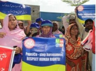 Arbeiterinnen bei PepsiCo in Pakistan verteidigen Gewerkschaftsrechte