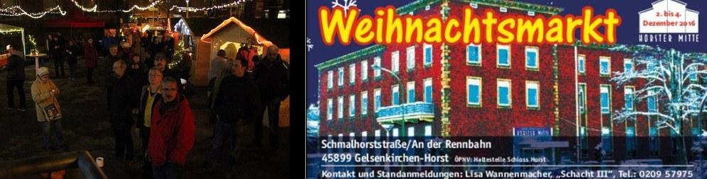 Es ist wieder soweit: Traditioneller Weihnachtsmarkt der Horster Mitte