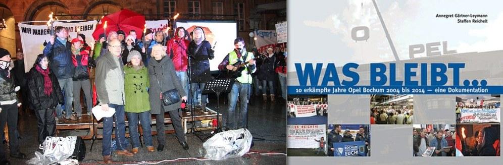 Heute erschienen: Buch-Dokumentation über zehn erkämpfte Jahre Opel Bochum