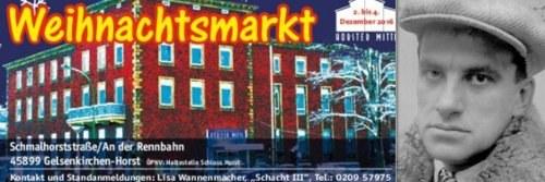 Horster Mitte: Kultur-Highlight zu Beginn des Weihnachtsmarkts am 2. Dezember