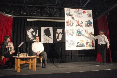 Gelsenkirchen: Ein anregender Abend über den russischen Künstler Wladimir Majakowski