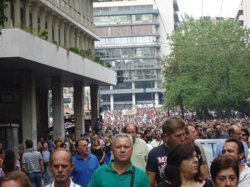 Heute Generalstreik in Griechenland