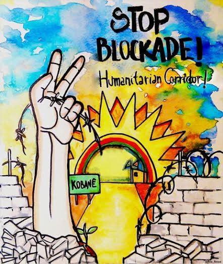 Aufruf des Kobanê-Wiederaufbaukomitees