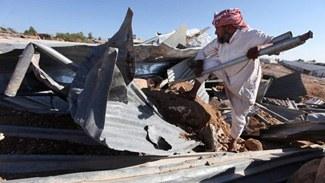 Israelische Armee zerstört EU-finanzierte Beduinen-Unterkünfte