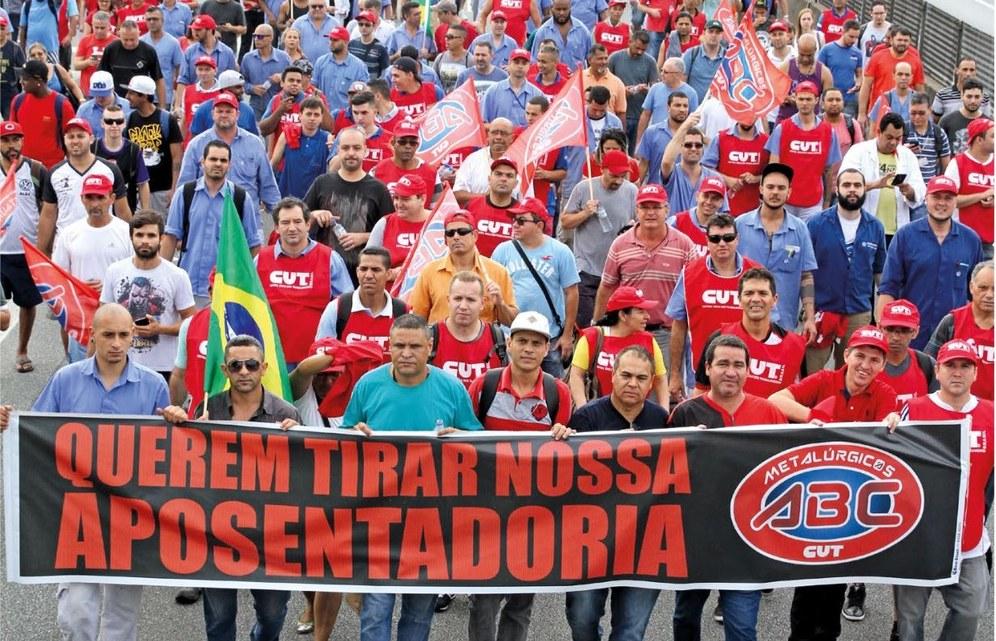 Brasilien: Tausende Metall- und Automobilarbeiter protestieren