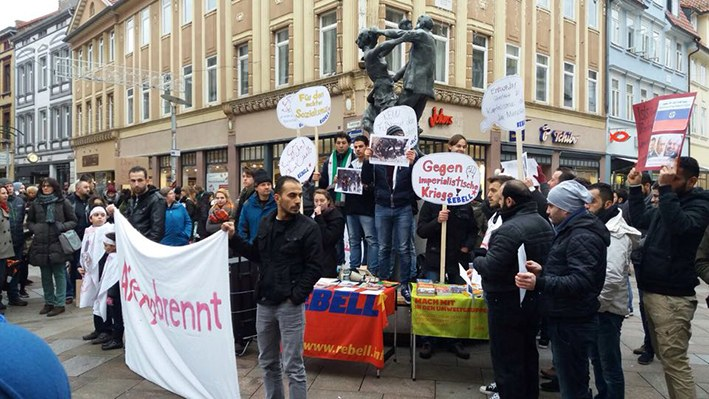Göttingen: Erfolgreiche Kundgebung gegen Krieg und Unterdrückung