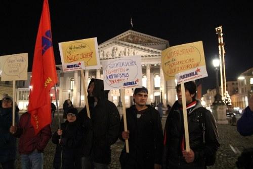 München: Demo gegen reaktionäre Flüchtlingspolitik