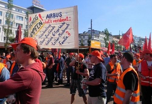 Airbus: Höhenflug auf Kosten der Arbeiter und Angestellten
