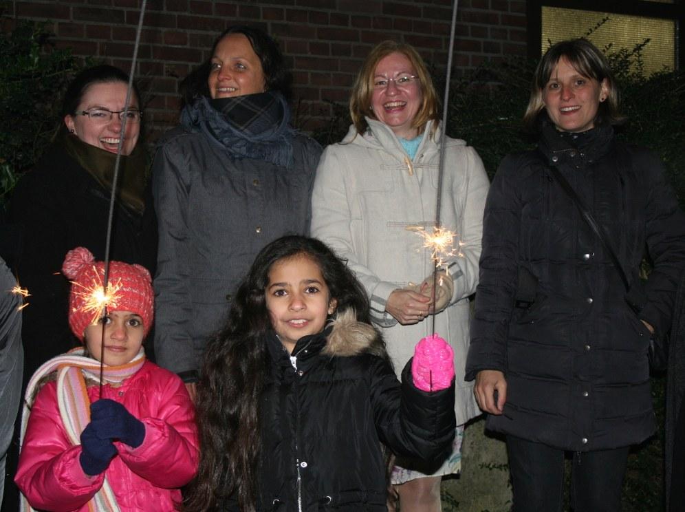 Silvesterfeiern 2016 - Schöne Feiern und  nachdenkliche Stimmung