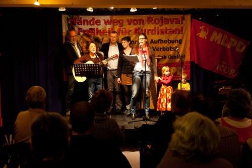 Politischer Aschermittwoch der MLPD auch in München: Kulturvolle Veranstaltung voller Optimismus und Solidarität