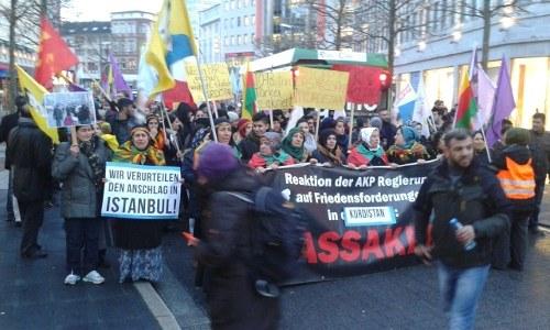 """Bochum: """"Erdogan - Terrorist"""""""