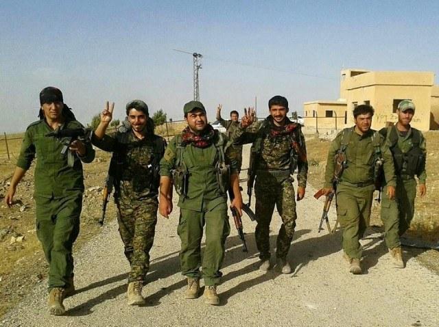 Angriffe des faschistischen IS auf Girê Spî zurückgeschlagen