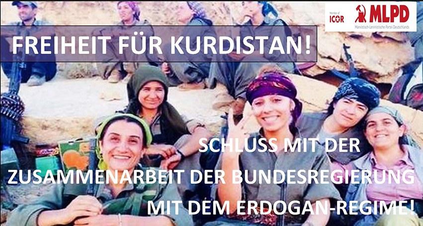 Montagsdemonstrationen fordern: Hände weg von Rojava!