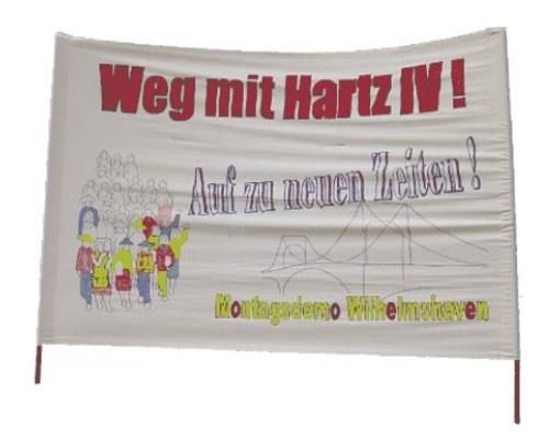 """Montagsdemo Wilhelmshaven: """"Schluss mit den Kriegen und der Unterdrückung in Syrien, Kurdistan etc."""""""