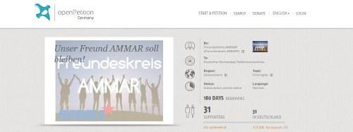 """REBELL Gelsenkirchen: """"Unser Freund AMMAR soll bleiben!"""""""