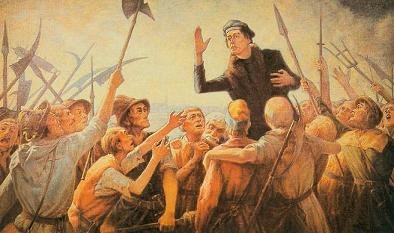Reformation contra Revolution - Martin Luther gegen Thomas Müntzer und seine Erben