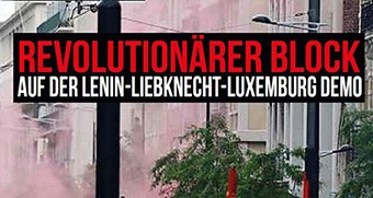 Kommt mit zur Lenin-Liebknecht-Luxemburg-Demonstration nach Berlin!