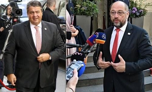 Monopolpolitiker unter sich – Gabriel räumt seinen Platz für Schulz