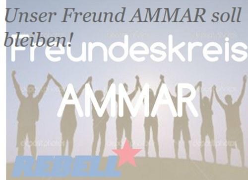 REBELL Gelsenkirchen: Unser Freund Ammar soll bleiben!