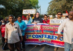 2. Internationale Bergarbeiterkonferenz: Die Diskussion eines gemeinsamen Kampfprogramm der Bergarbeiter hat begonnen
