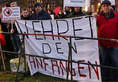 Oberhausen: Breiter Protest gegen AfD-Landesparteitag