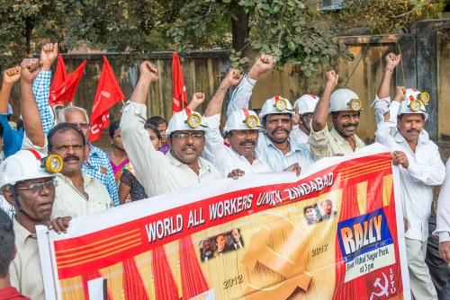 Vier bewegende Tage der internationalen Bergarbeiterbewegung sind zu Ende