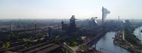 Eine Million Tonnen Stahl weniger bei HKM Duisburg