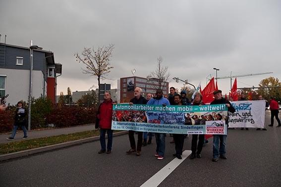 Sindelfinger Freunde der IAC solidarisch mit Opel- und PSA-Beschäftigten