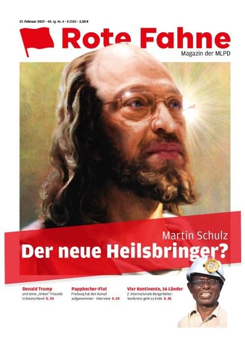 SPD-Kanzlerkandidat Martin Schulz will Agenda 2010 weißwaschen