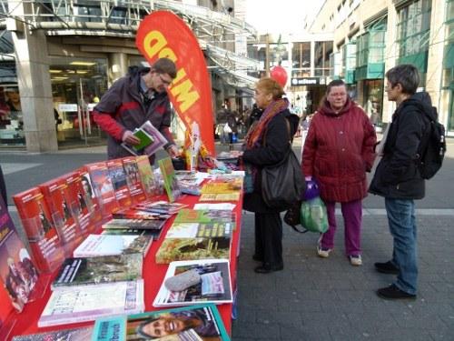 """Internationaler Frauentag in Bochum: 23 Frauenorganisationen stehen gemeinsam auf für Frauenrechte"""""""