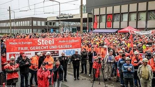 Stahltarifrunde 2017: Stahlkapitalisten provozieren