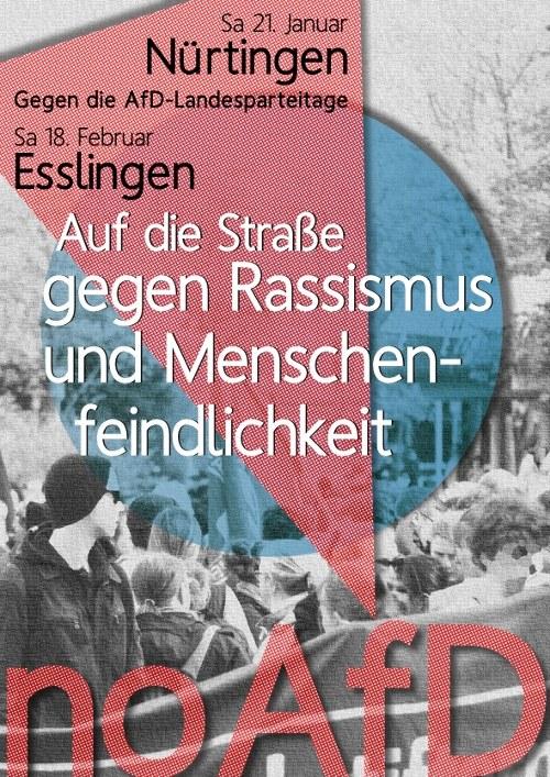 Stuttgart: Junge Antifaschisten wegen Landfriedensbruch angeklagt