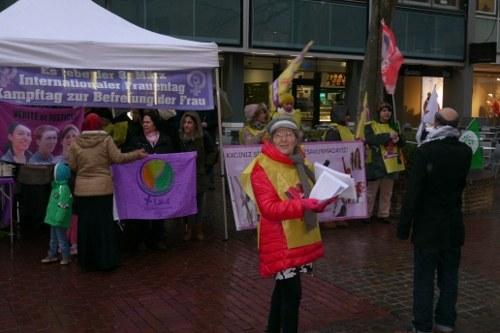 Ulm: Begeisternder Frauentag und empörender Polizeieinsatz
