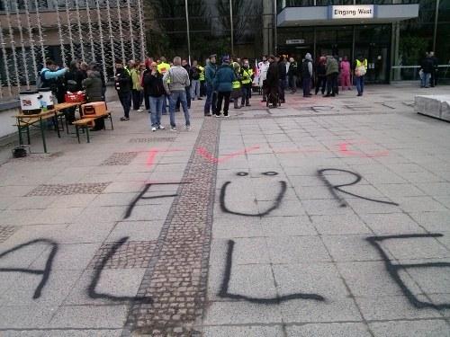 Berlin: Charité Facility Management – Streik seit heute 6 Uhr