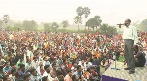 Solidarität mit der Volks- und Umweltbewegung in Banghor (Indien)