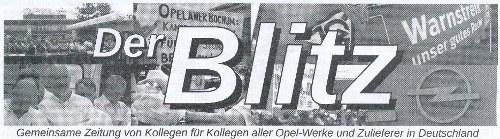 """Opel: """"Die Weichen für den Kampf um jeden Arbeitsplatz müssen wir heute stellen!"""""""