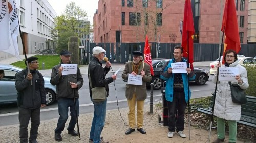 Deutschland: Solidarität mit den verurteilten Maruti-Suzuki-Kollegen